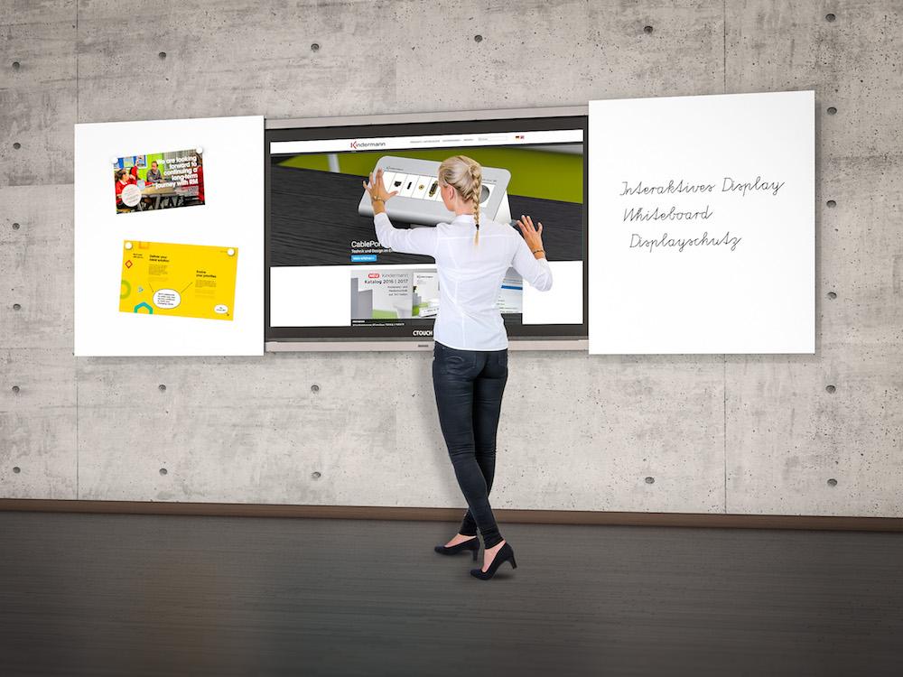 Analog und Digital werden beim DisplayBoard vereint (Foto: Kindermann)