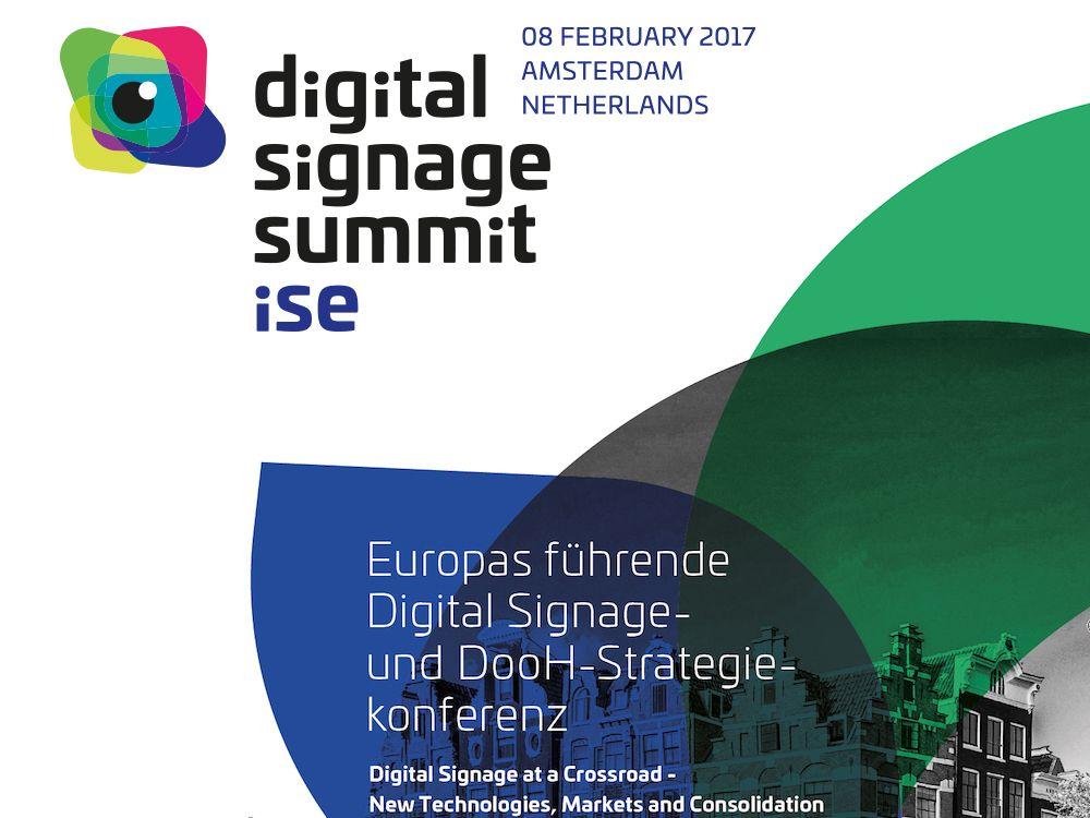Auf der ISE 2017 wird der DSS Europe das Messe-Programm ergänzen (Grafik: invidis)