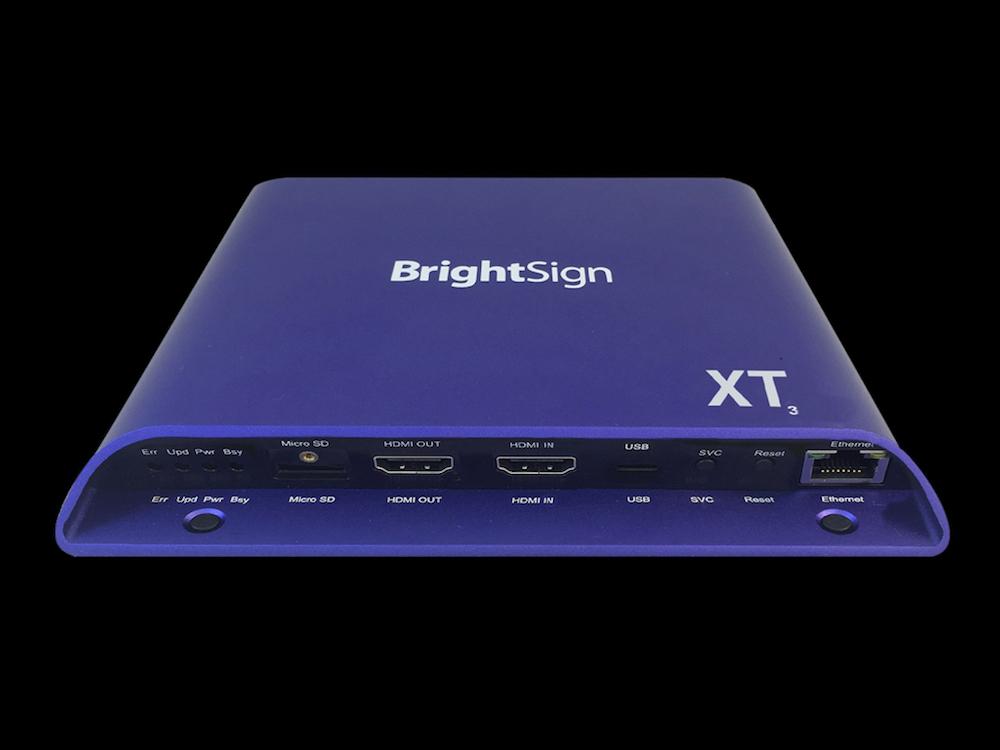 Der XT1143 ist das Flaggschiff der neuen Serie 3 (Foto: BrightSign)