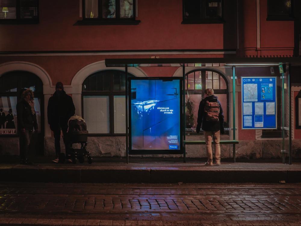 Erst bei Dunkelheit wird der Schrecken sichtbar.jpg (Foto: TBWA\Helsinki)