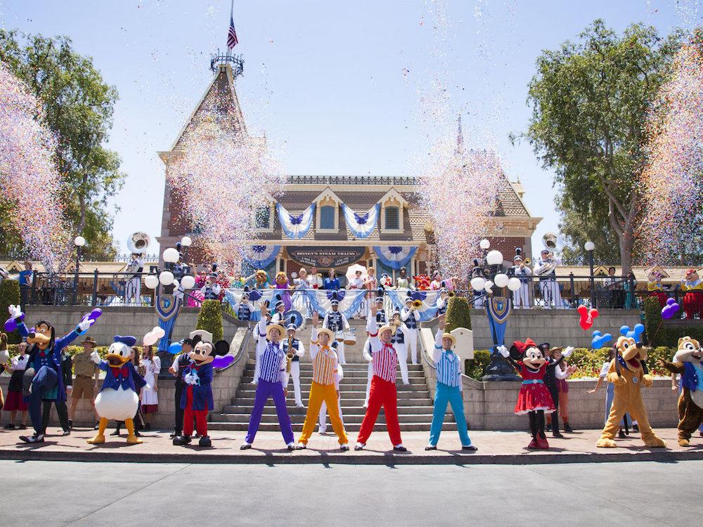 Feier zum 61. Geburtstag von Disneyland im Sommer 2016 – Symbolbild (Foto: Scott Brinegar / Disneyland Resort)