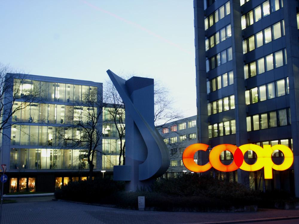 Hauptsitz von Coop in Basel (Foto: Coop)