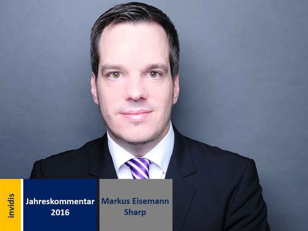 Digital Signage-Jahreskommentar 2016: Markus Eisemann (Bild: Sharp)