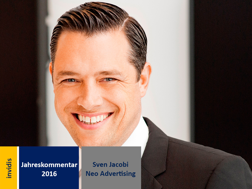 Digital Signage-Jahreskommentar: Sven Jacobi (Bild: Neo Advertising)