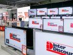 Tausende Screens sind bei Interdiscount buchbar (Foto: Interdiscount Instore TV)
