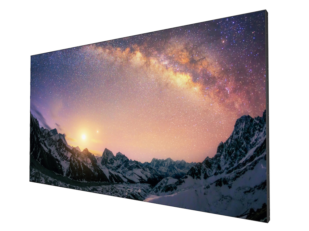 Video Wall Display PL552 mit schmalen Bezels (Foto: BenQ)