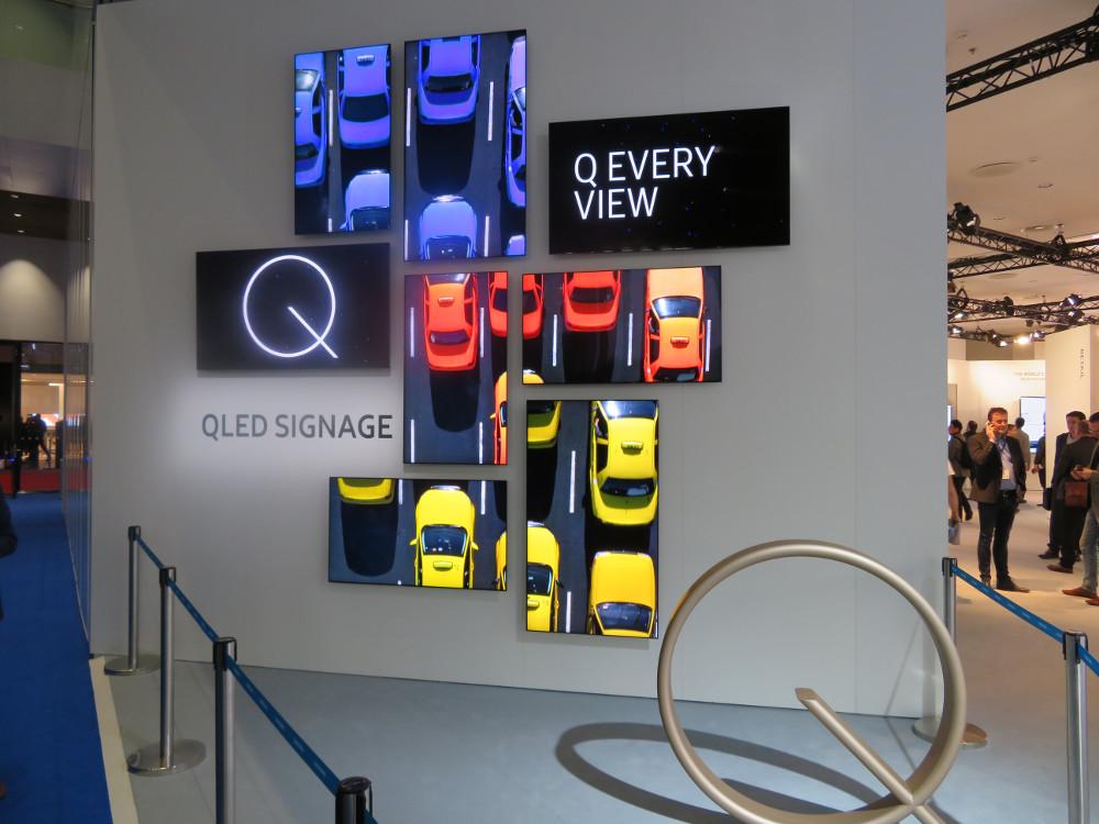 Samsung QLED Premiere auf der ISE (Foto: invidis)