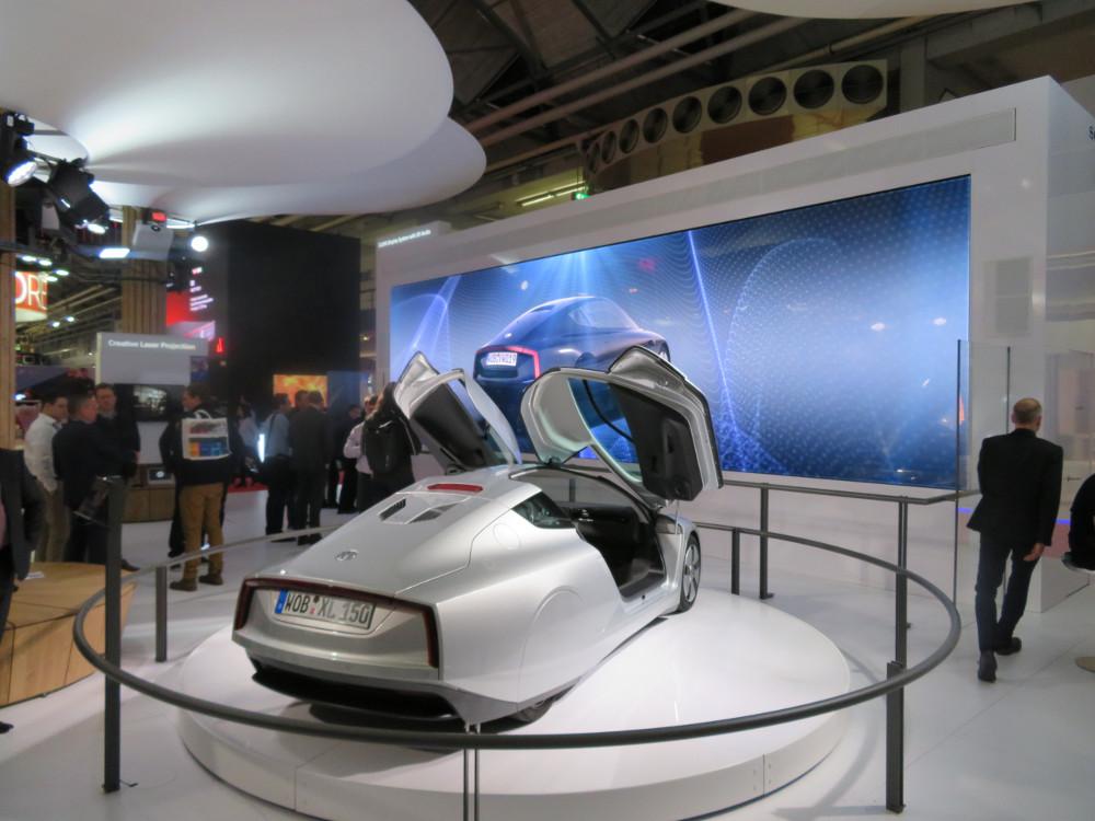 Sony präsentierte CLEDIS auf der ISE (Foto: invidis)