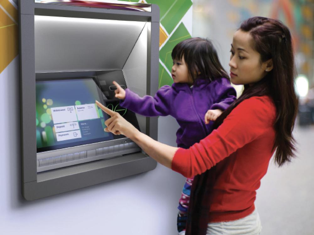 ATM aus der neuen SelfServ Serie 80 (Foto: NCR)