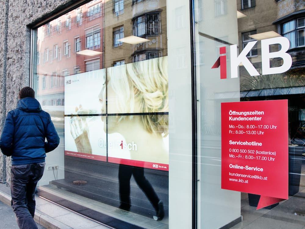 Die Innsbrucker Kommunalbetriebe nutzen Digital Signage im Schaufenster (Foto: Peakmedia)