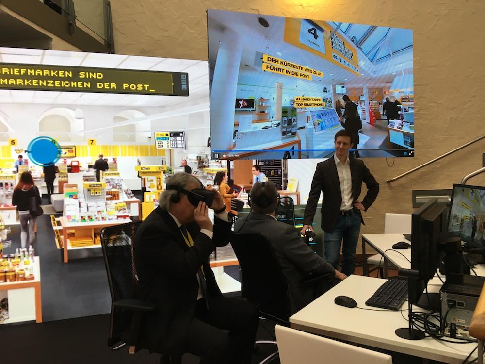 Die Post in Österreich setzt nun auf ein VR App (Foto: jumptomorrow)