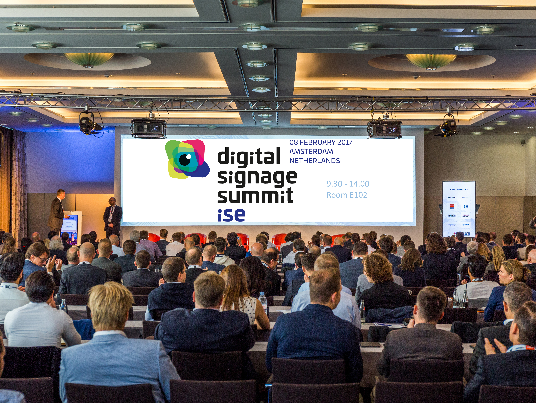 Digital Signage Summit Mittwoch (Bild: invidis)