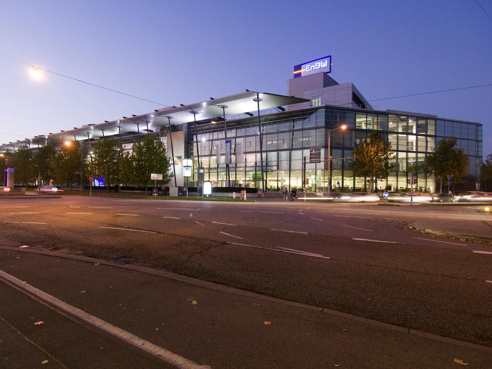 EnBW-Zentrale Karlsruhe (Foto: EnBW/Andy Ridder)