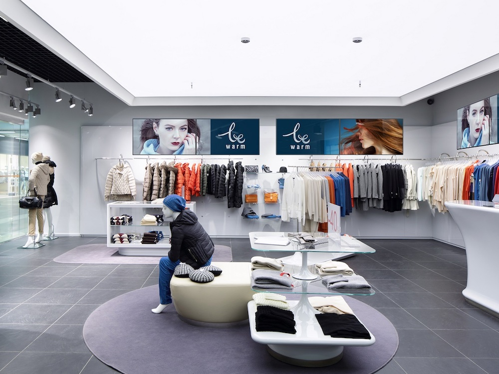 Large Format Screens am Point of Sale (Foto: NEC)