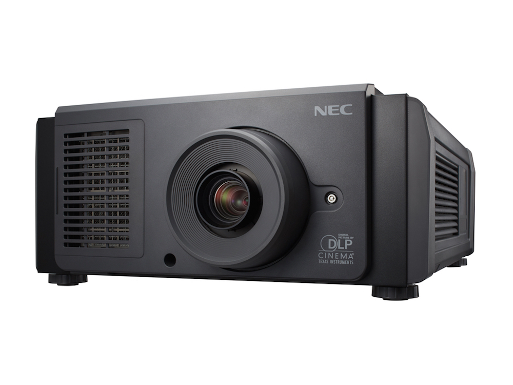 Neuer RB Laser Kinoprojektor NC1700L (Foto: NEC)