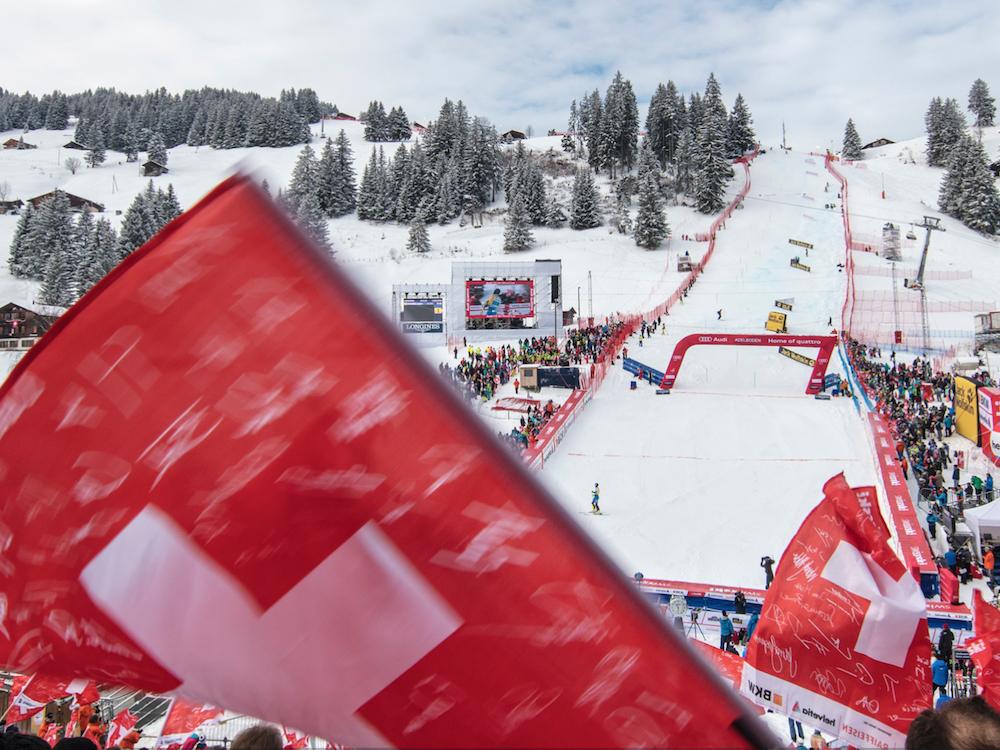 Richnerstutz war beim Ski World Cup mit verschiedenen Installationen am Start (Foto: Richnerstutz AG)