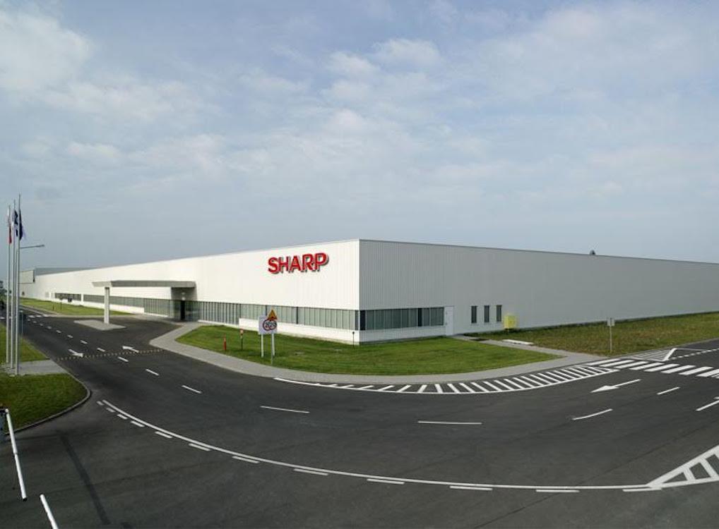 Sharp TV Fabrik in Torun (Foto: UMC)