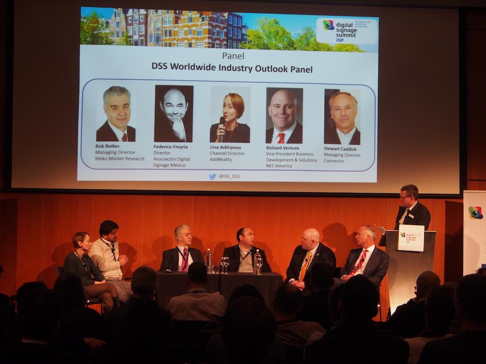 Wichtige Industrietrends waren Thema beim DSS ISE (Foto: invidis)