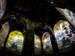 Aufwändige AV Projektionen in der Citadella (Foto: Sarner International)