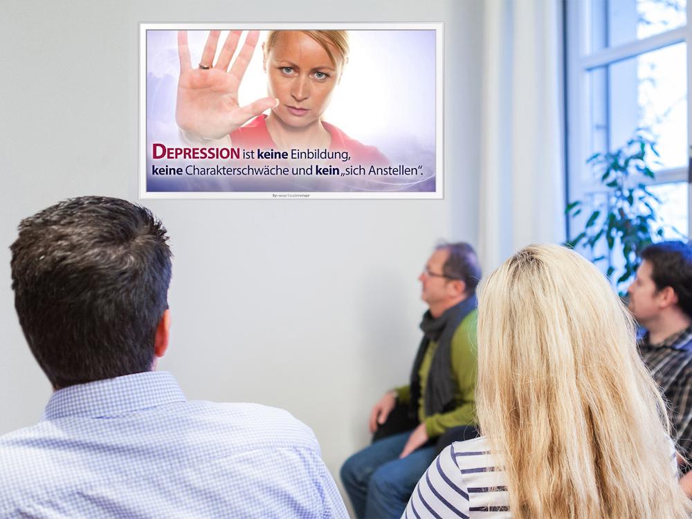 Bei TV-Wartezimmer wird aktuell die Depression thematisiert (Foto: TV-Wartezimmer)
