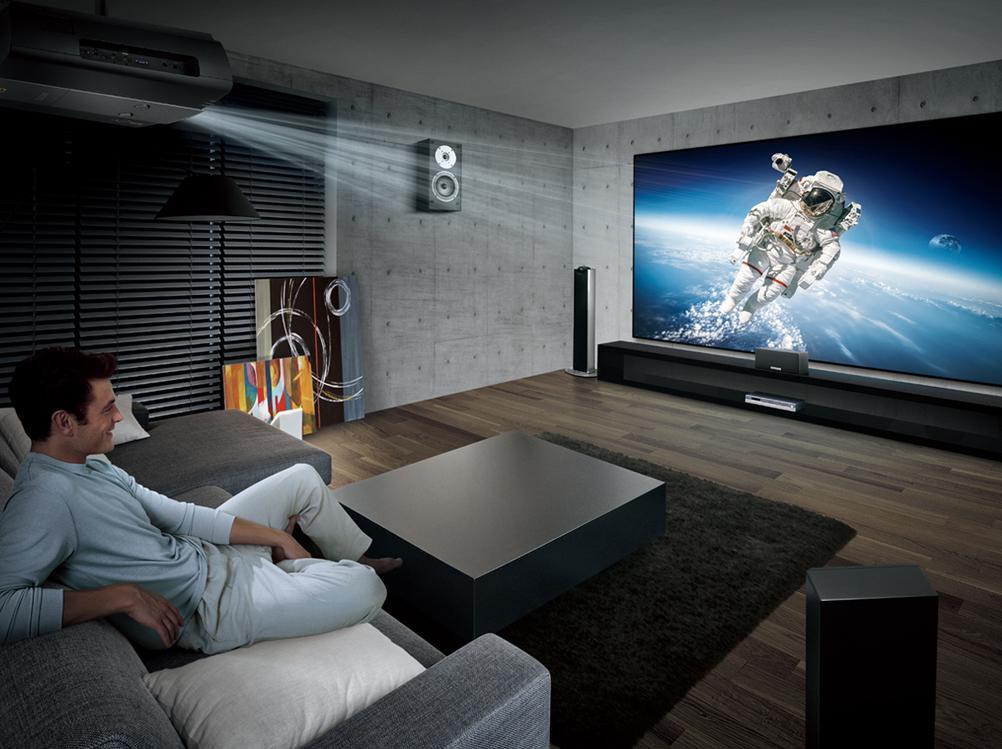 BenQ X12000 in einem High End Home Cinema-Szenario (Foto: BenQ)