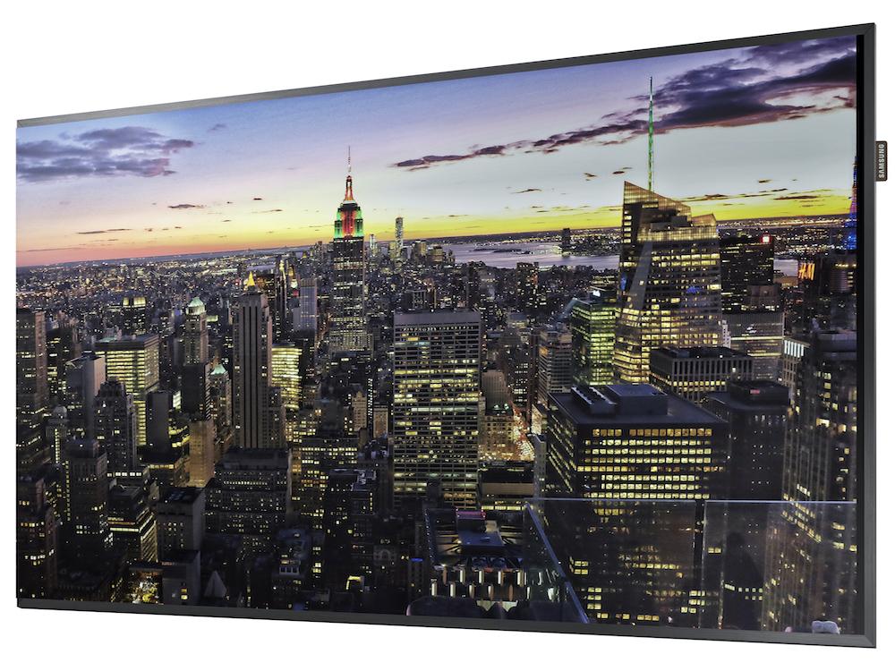 Die QMF Serie besteht aus Ultra D Displays für den professionellen Einsatz (Foto: Samsung)