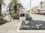 Go2Digital DooH Screen an der Strandpromenade von Split (Foto: Go2Digital)