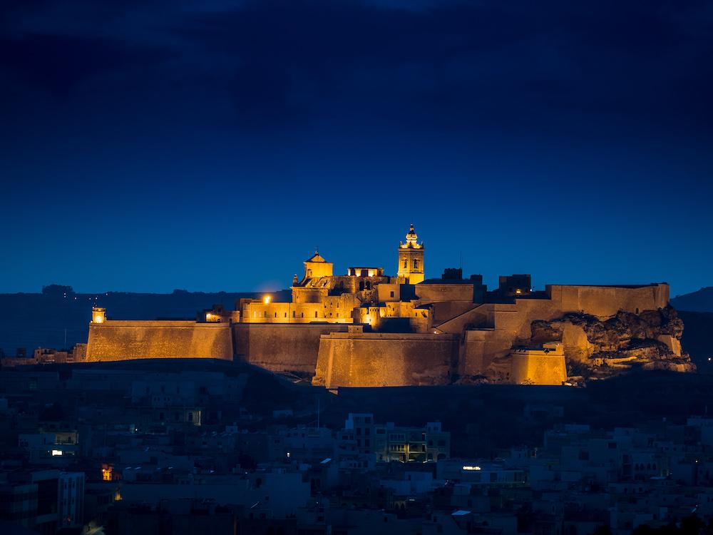 Hier kreuzten schon die Kreuzritter ihre Klinge – Zitadelle von Gozo (Foto: Sarner International)