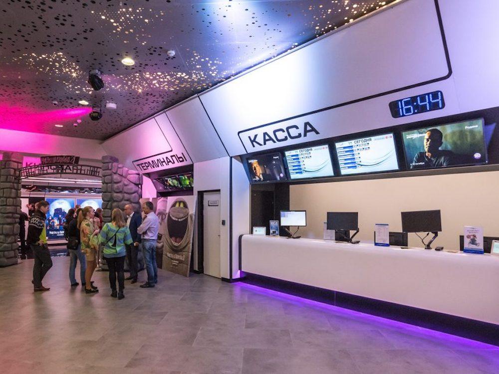 Kassenbereich in einem Formula Kino (Foto: Scala)