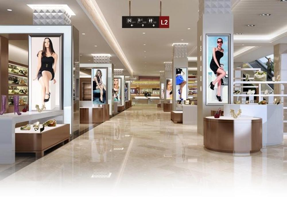 LED Screens aus der Serie N am Point of Sale (Foto: Absen)