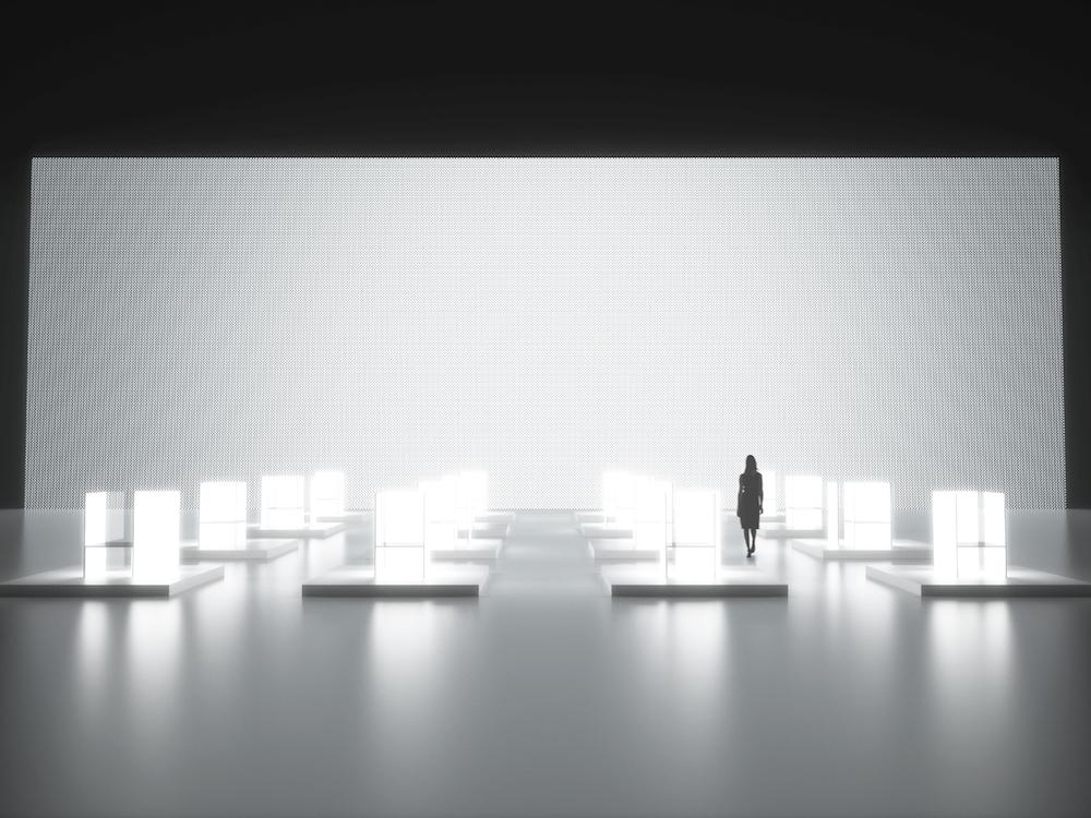 OLED wird auf der Milan Design Week inszeniert (Foto: LG)