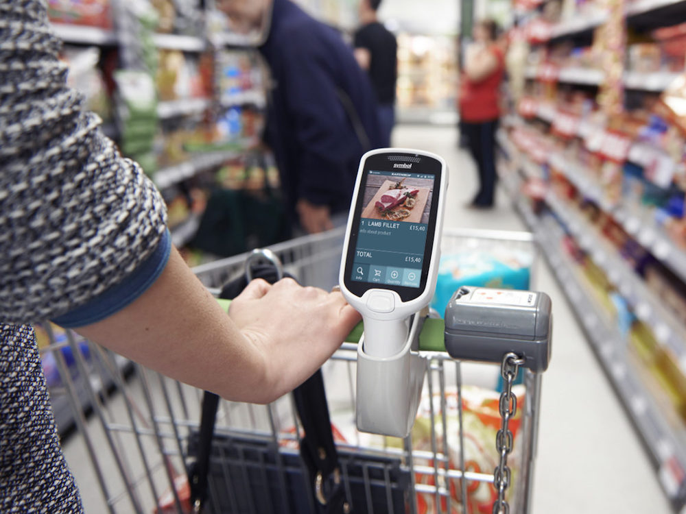 Self Scanning am Point of Sale (Foto: Datema Retail)