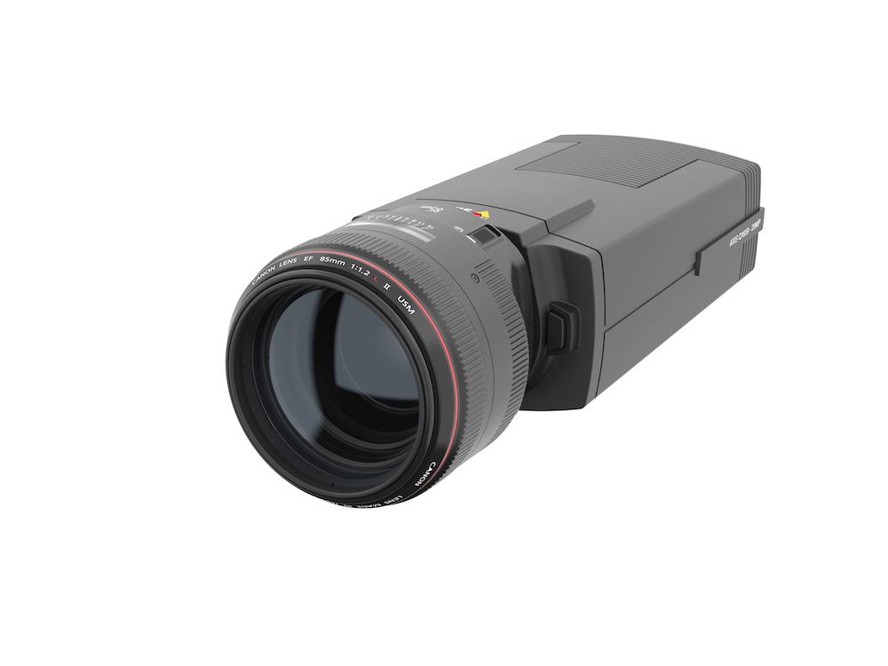Von Canon und axis gemeinsam entwickelt – neue IP Kamera AXIS Q1659 (Foto: Axis Communications)