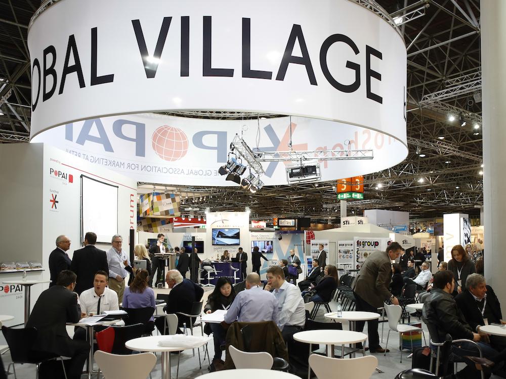 Wie auf der EuroShop 2014 wird es auch 2017 ein großes POPAI Village geben (Foto: Messe Düsseldorf / ctillmann)