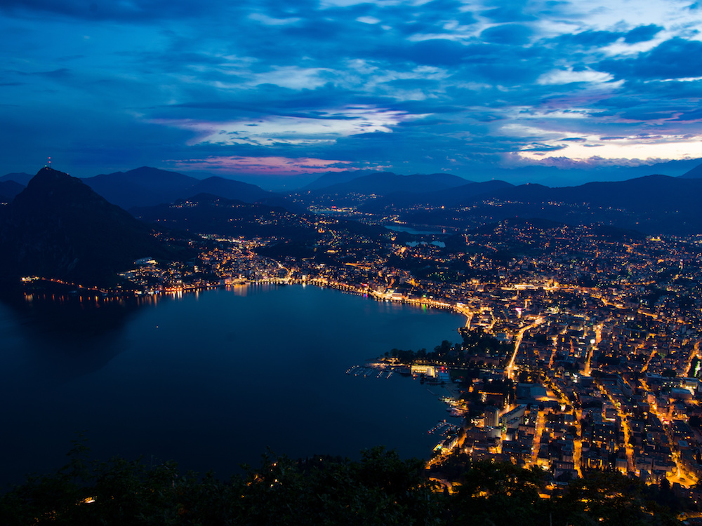 Blick auf Lugano (Foto: APG|SGA)