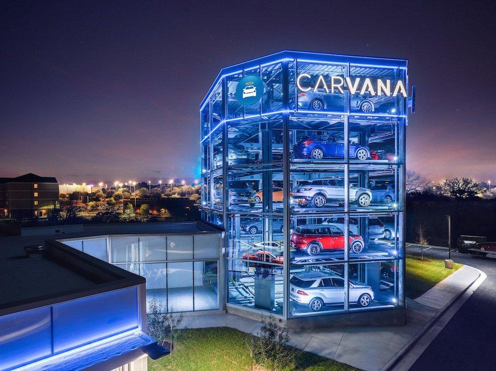 Carvana Vending Machine in San Antonio (Foto: Carvana)