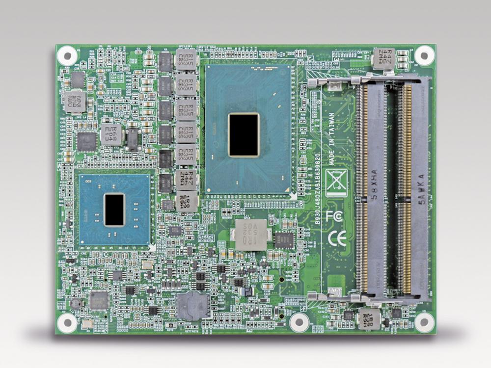 Das Modul PCOM-B643VG arbeitet mit mobilen Kaby Lake Prozessoren (Foto: Portwell)