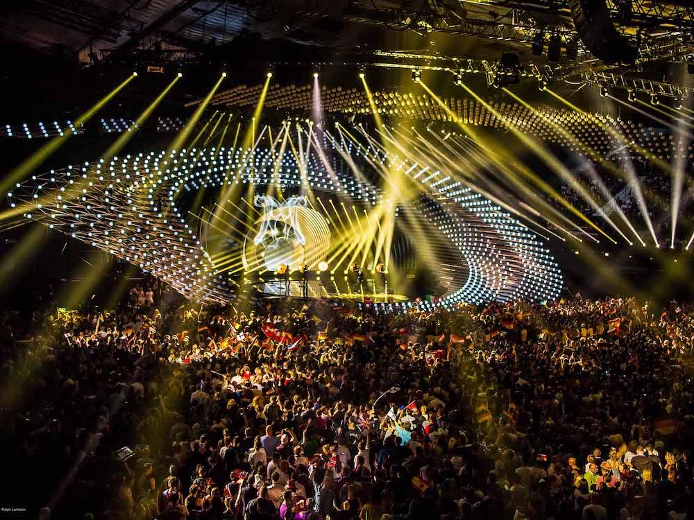 Der Eurovision Song Contest wird zum dritten mal von Osram und Clay Paky illuminiert (Foto: Osram / Ralph Larmann)