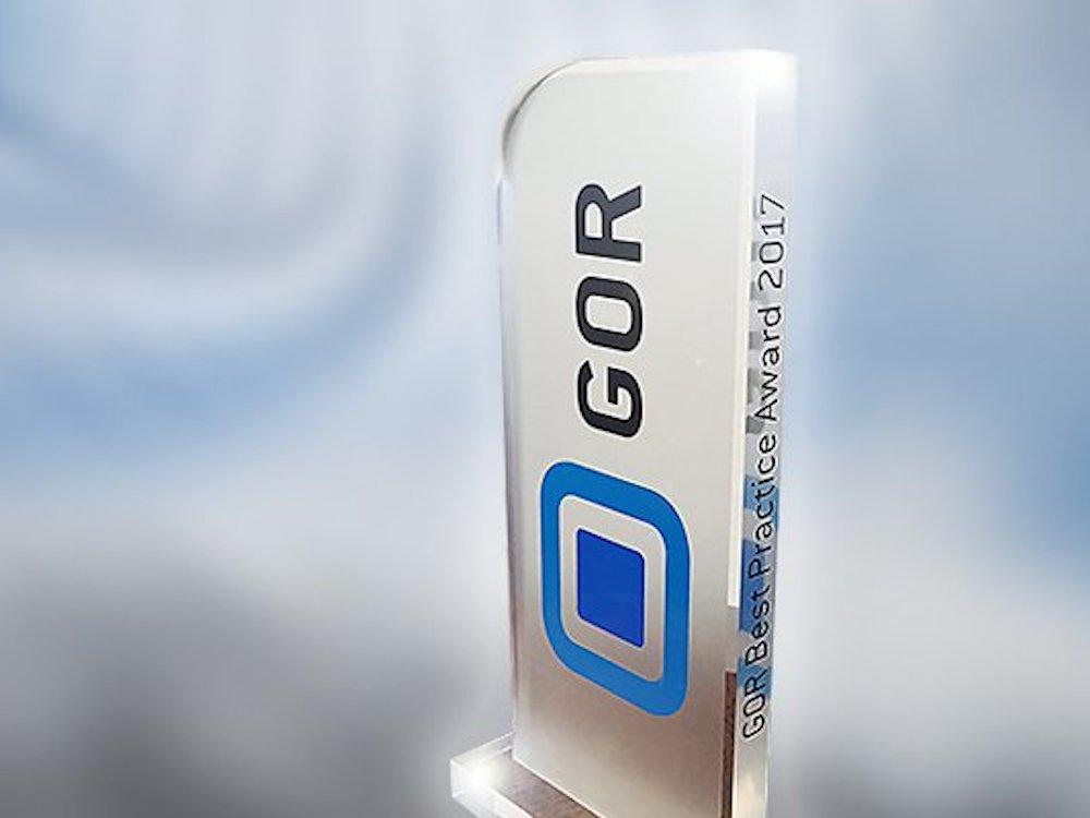 Die Studie des Aussenwerbers erreichte den ersten Platz beim GOR Best Practice Award (Foto: APG|SGA)