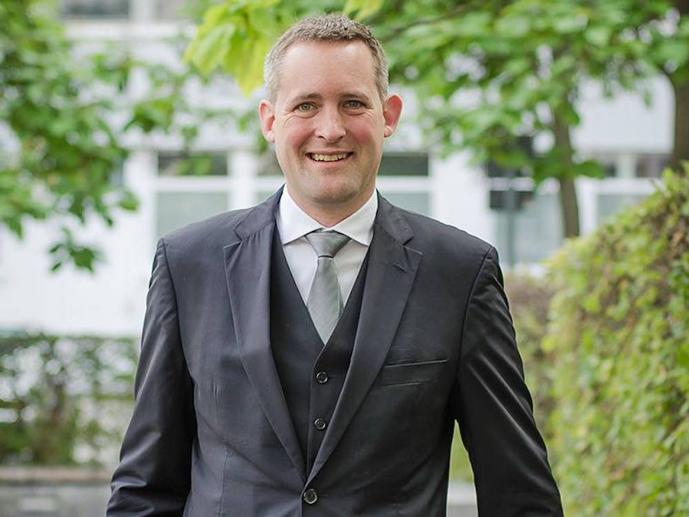 Florian Rotberg Chairman des DSS Europe (Foto: invidis)