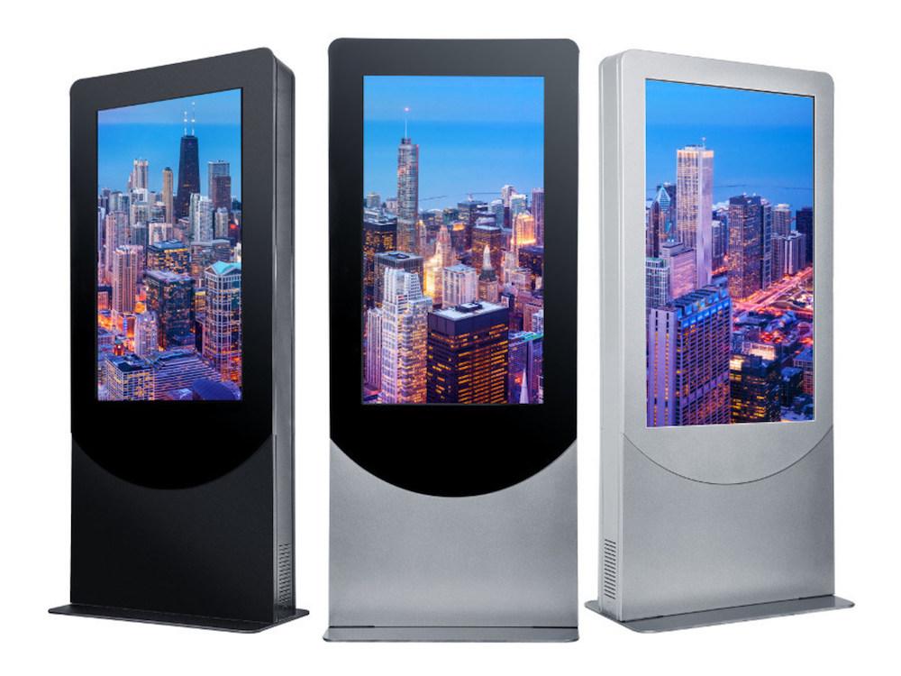 Neue Indoor Kiosk Serie von Peerless-AV für Screens mit Portrait Ausrichtung(Foto: Peerless-AV)