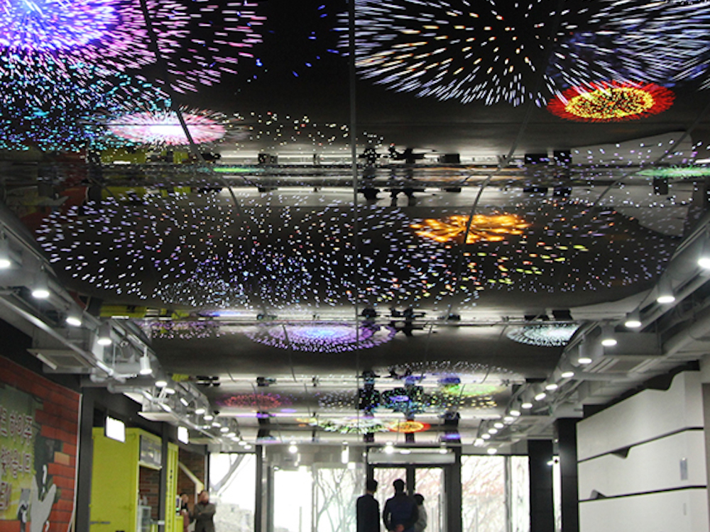 OLED Feuerwerk gutes Quartalsergebnis sorgt bei LG Display für gute Laune (Foto: LG Display)