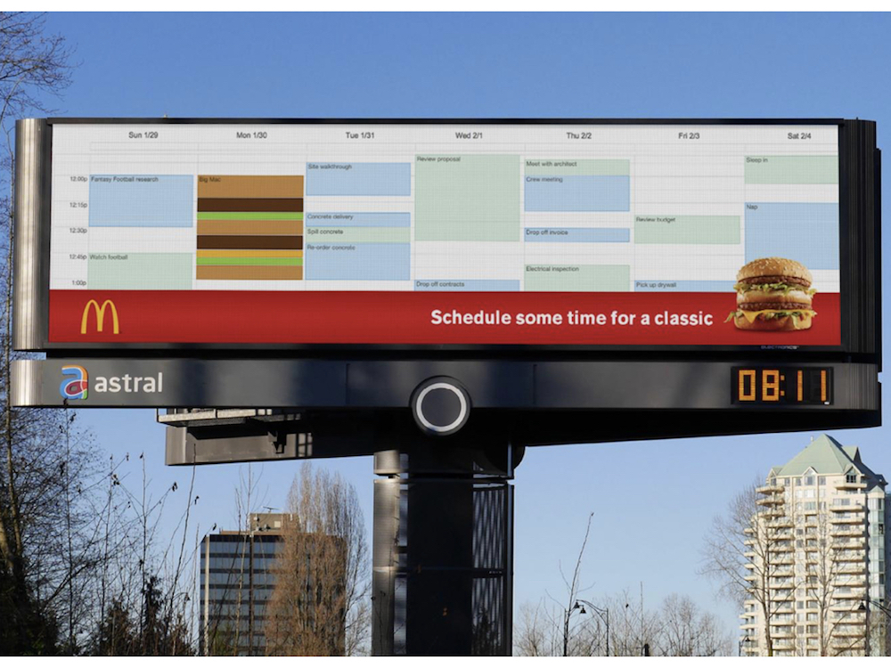 """Time for a classic"" Kampagne in Kanada (Foto: Cossette)"