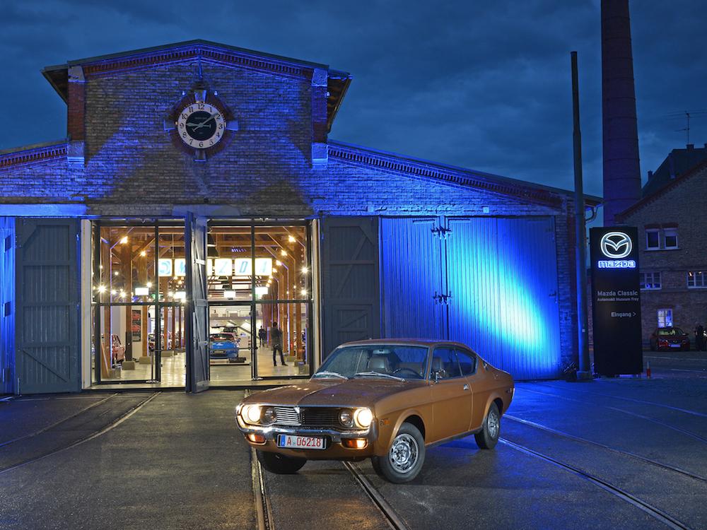 Blick auf das neue Mazda Museum (Foto: Mazda)