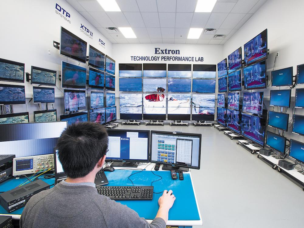 Controlling und Monitoring von LG Displays via Extron sollen verbessert werden (Foto: Extron)