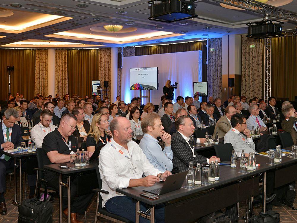 Publikum beim DSS Europe 2016
