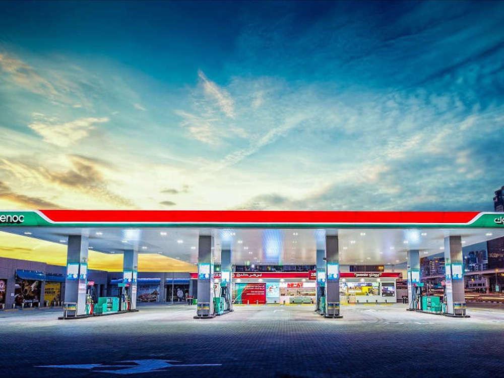 Die erste von mindestens 14 – ENOC Smart Gas Station (Foto: ENOC)