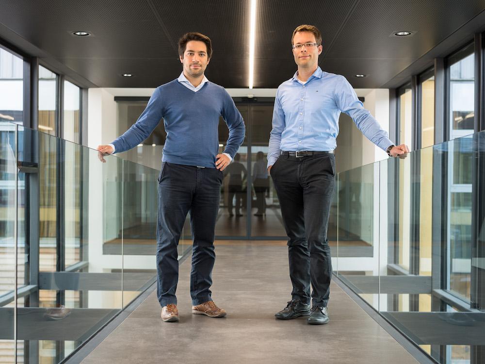 Bilden nun auch in der Geschäftsführung ein Team – Fabian (l.) und Tobias Stumpf (Foto: AV Stumpfl)