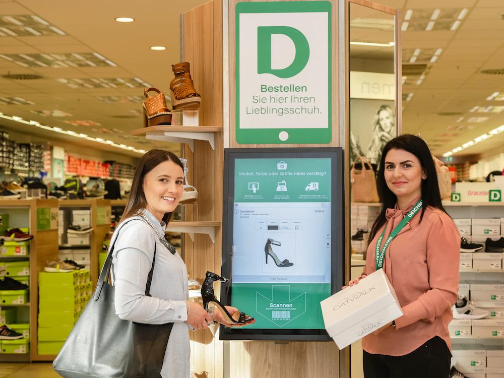 Mehr Interaktion und Ansprache auf allen Kanälen – Deichmann investiert weiter in digitale Services (Foto: Bütema)