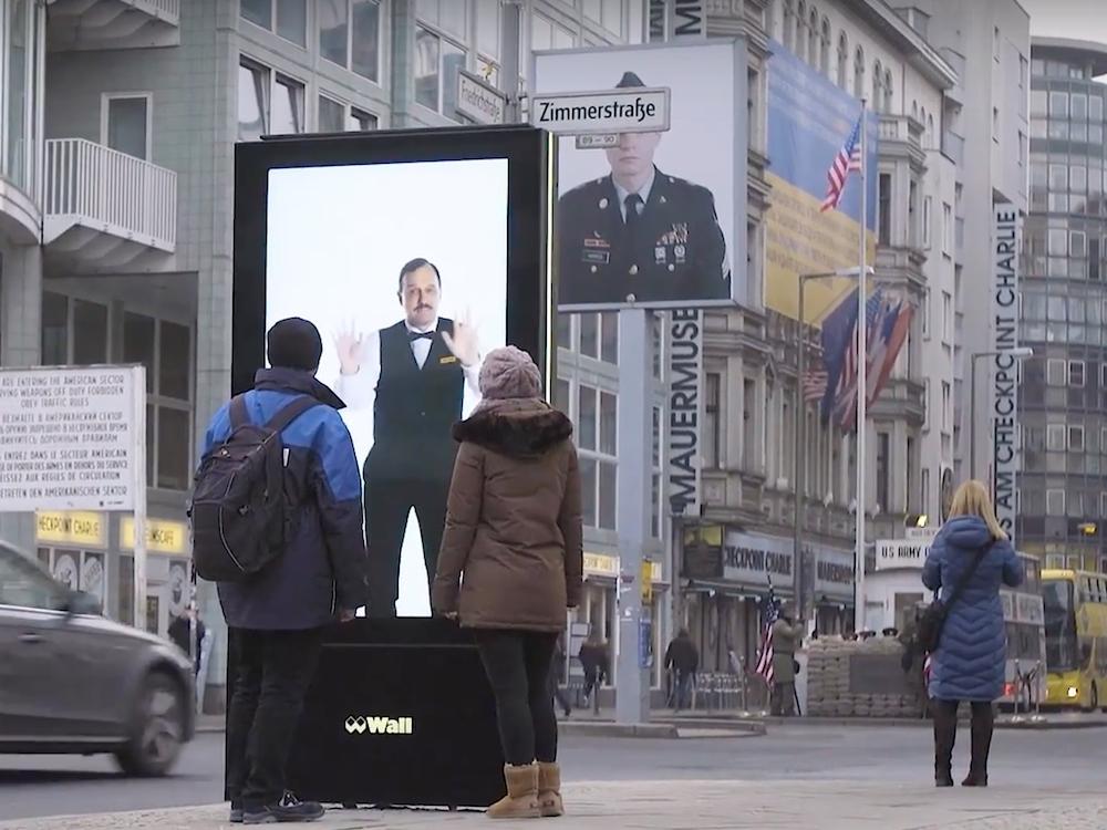 Mit der interaktiven Kampagne erregt der Werbungtreibende große Aufmerksamkeit (Screenshot: invidis)